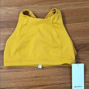 Lululemon Free To Be Serene Bra Yellow 10
